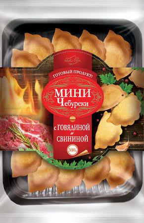 Мини-чебуреки с говядиной и свининой